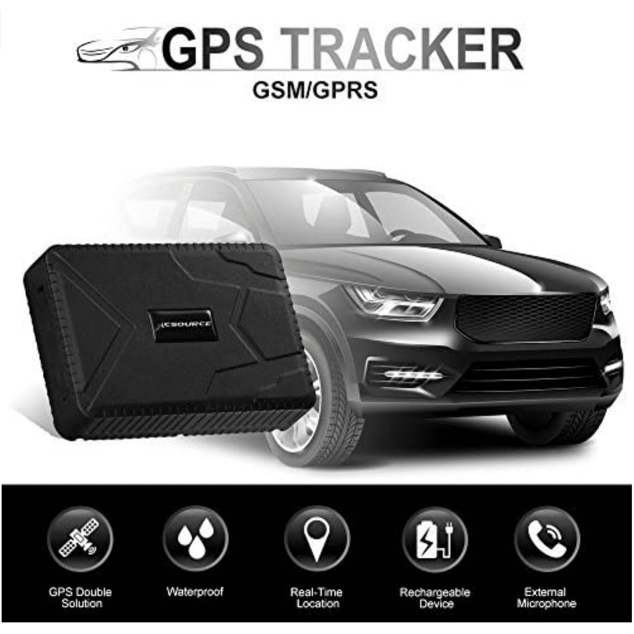 Top 9 best GPS tracker for cars review and Buyer's guide cover image