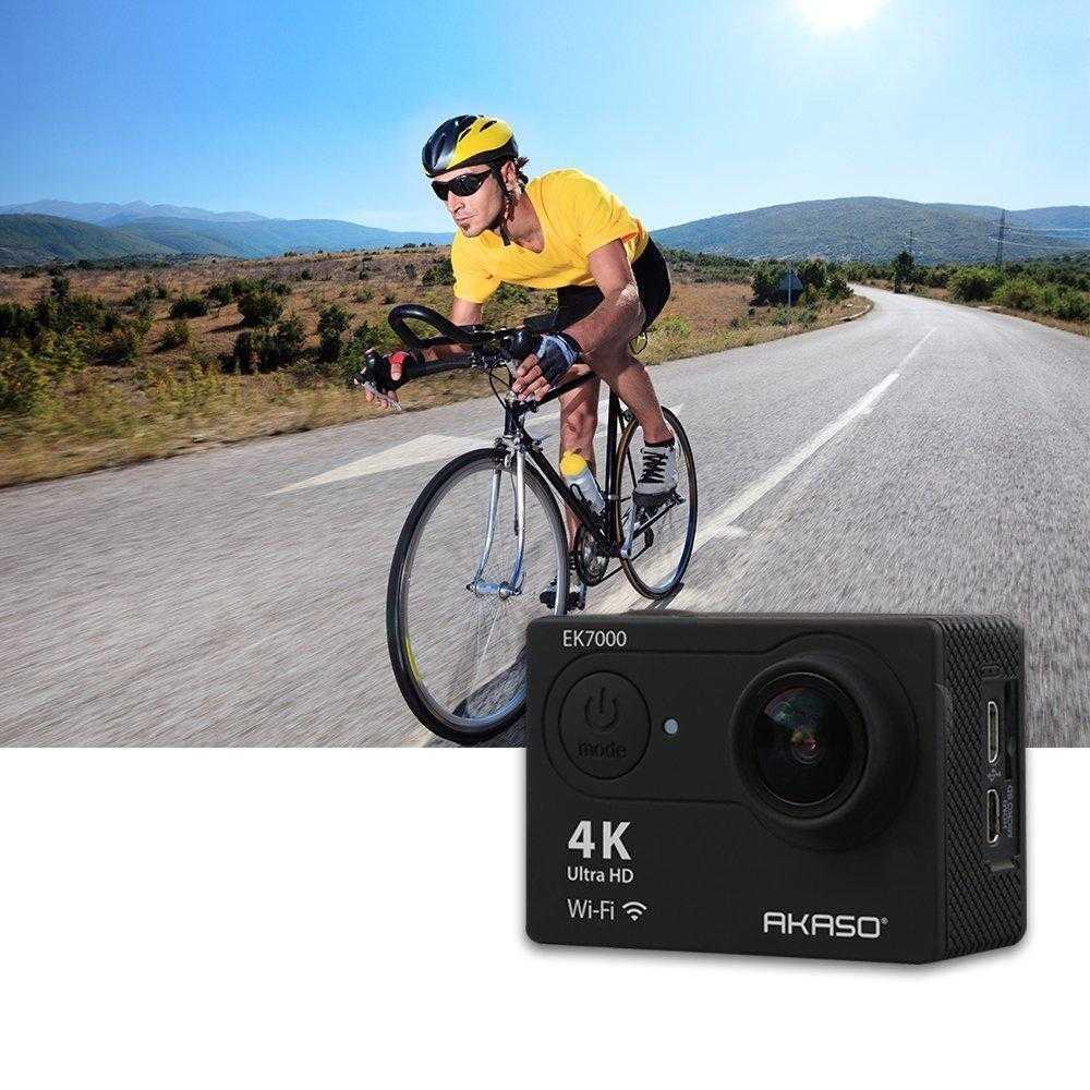 AKASO EK7000 review : Action Camera with 4K recording on a budget cover image