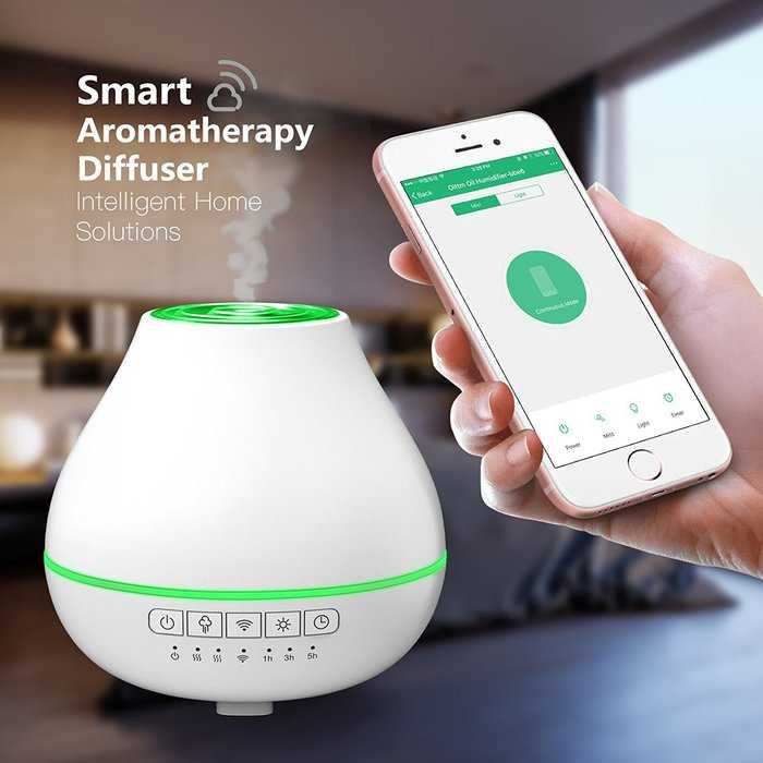 Oittm Smart Aroma Essential Oil Diffuser review cover image