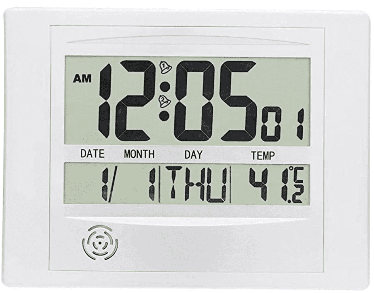 Best digital clock with calendar and alarm in 2020 cover image